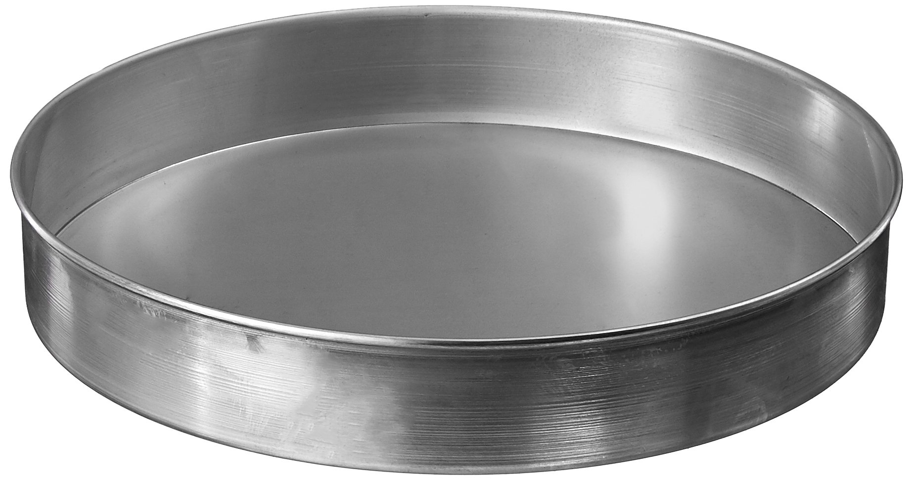 American Metalcraft T80122 Pizza Pans, 12.35'' Length x 12.3'' Width, Silver by American Metalcraft (Image #1)