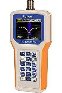 Amazon com: MFJ-269C SWR Antenna Analyzer 530 KHz - 230