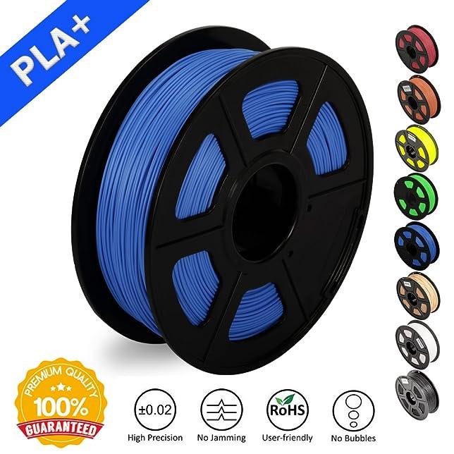 19 opinioni per 3D Printer Filament PLA Plus Blue(more like sky),PLA Plus Filament 1.75 mm