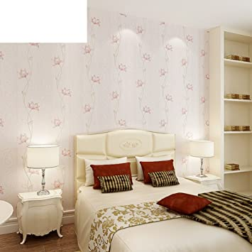 Romantische Tapeten Schlafzimmer | American Pastoral Vlies Tapeten Schlafzimmer Wohnzimmer Wand Zu Wand