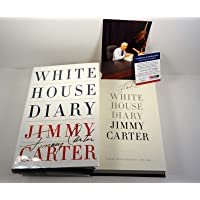 Jimmy Carter Signed Autograph White House Diary 1st Edition/1st Print Book PSA/DNA COA A