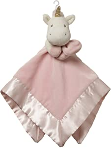 "Baby GUND Luna Unicorn Lovey Blanket Stuffed Plush Toy, Pink, 14"""