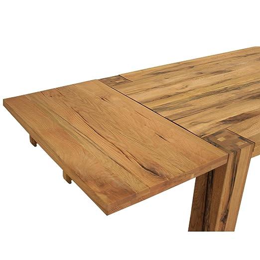 ansteckplatte fur esstisch braxton 100x50 cm massivholz holz eiche massiv natur geolt