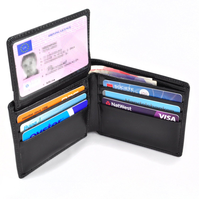 Vulanti Portefeuille RFID En Cuir Avec Protection AntiRFID - Porte carte anti rfid