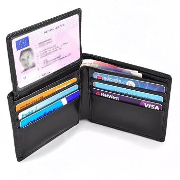 Vulanti Portefeuille RFID En Cuir Avec Protection AntiRFID - Porte cartes sécurisé protection rfid nfc