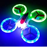 New Design SkyCo Mini Drone UFO 398 Lighting RC Quadcopter 2.4G 4CH 6 Axis with Fantastic LED Lights Original