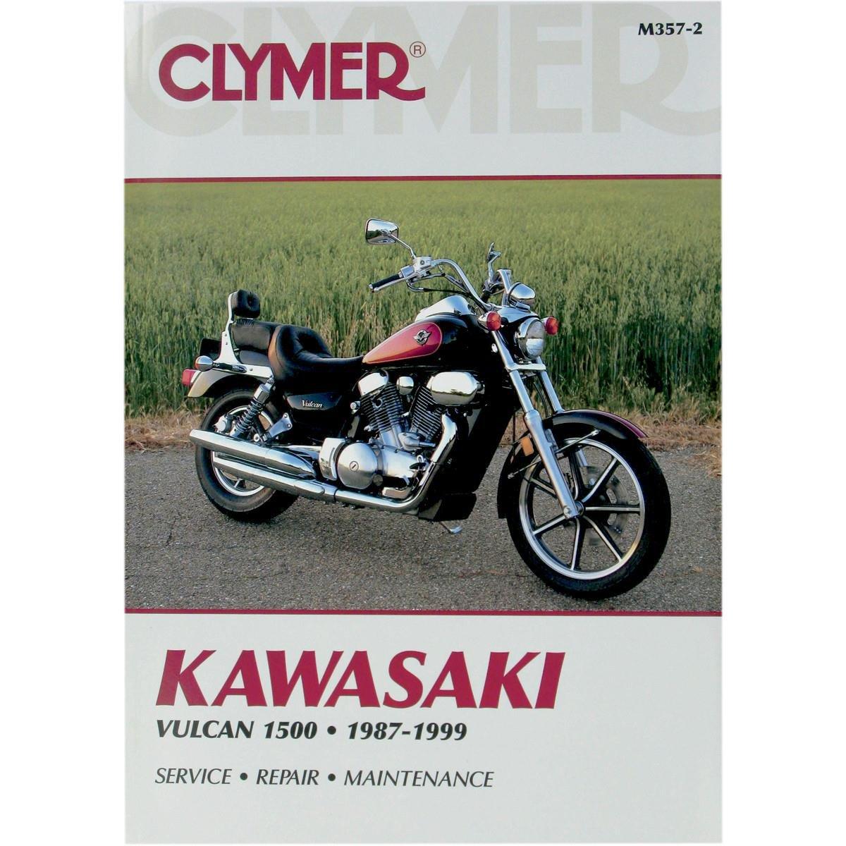Amazon.com: 1987-1999 Kawasaki VN1500 Vulcan CLYMER MANUAL KAW VN1500 VULCAN  87-99, Manufacturer: CLYMER, Manufacturer Part Number: M3572-AD, ...