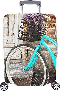 Bicicleta Vintage Lavanda Flores Traveller Travel Equipaje con ...