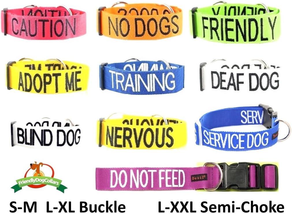 Wei/ß verhindet Unf/älle durch Vorwarnen anderer Hunde Personalisierbares Hunde-Bandana Deaf Dog modisches Halstuch