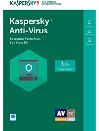 Kaspersky Anti-Virus 2017 | 3 Device | 1 Year | Download [Online Code]
