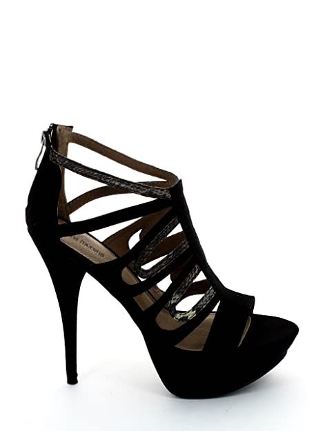 new styles 58c40 e1507 Nina Morena Sandalo nero, calzature donna: Amazon.it: Scarpe ...