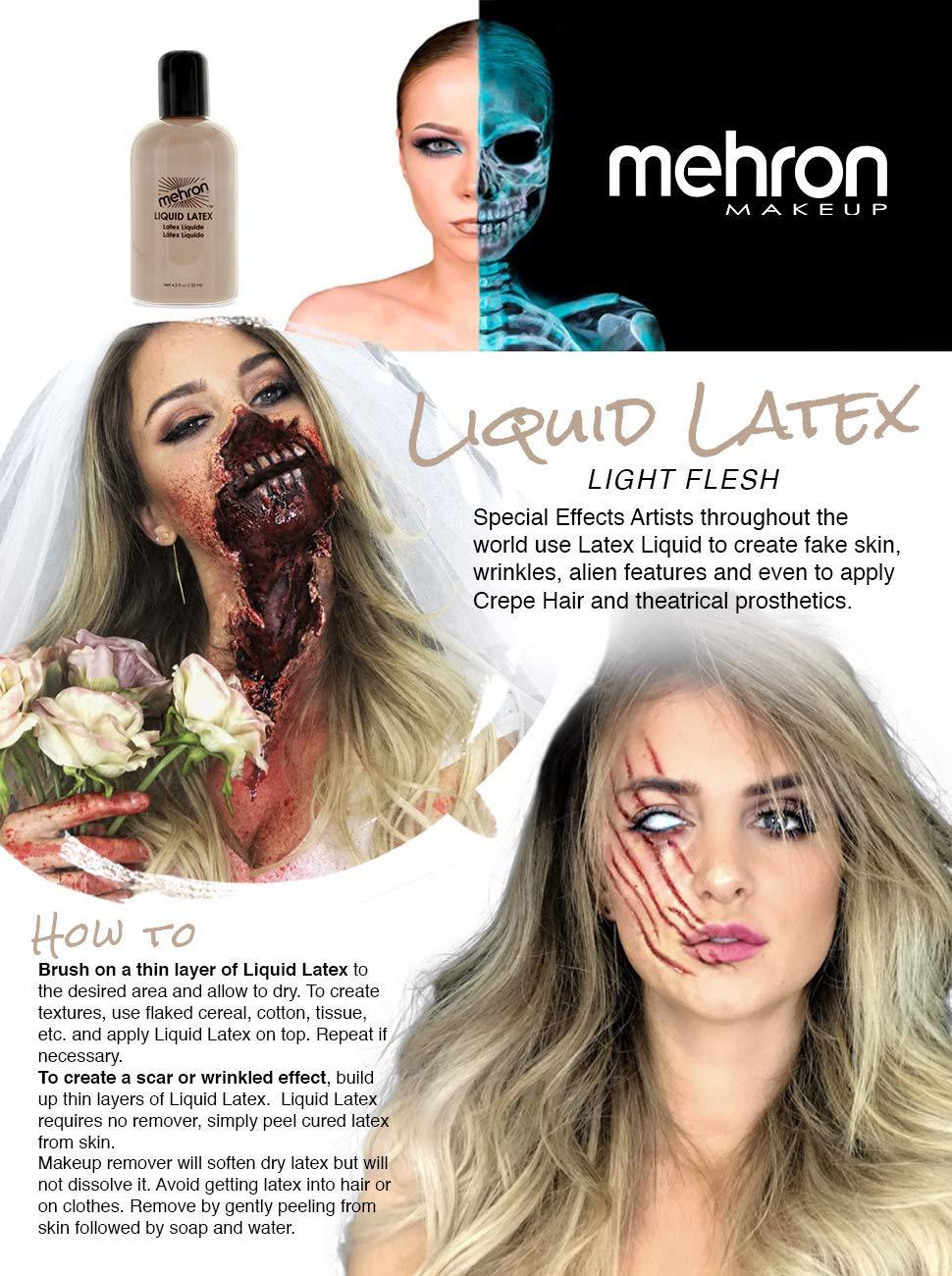 Apply liquid latex