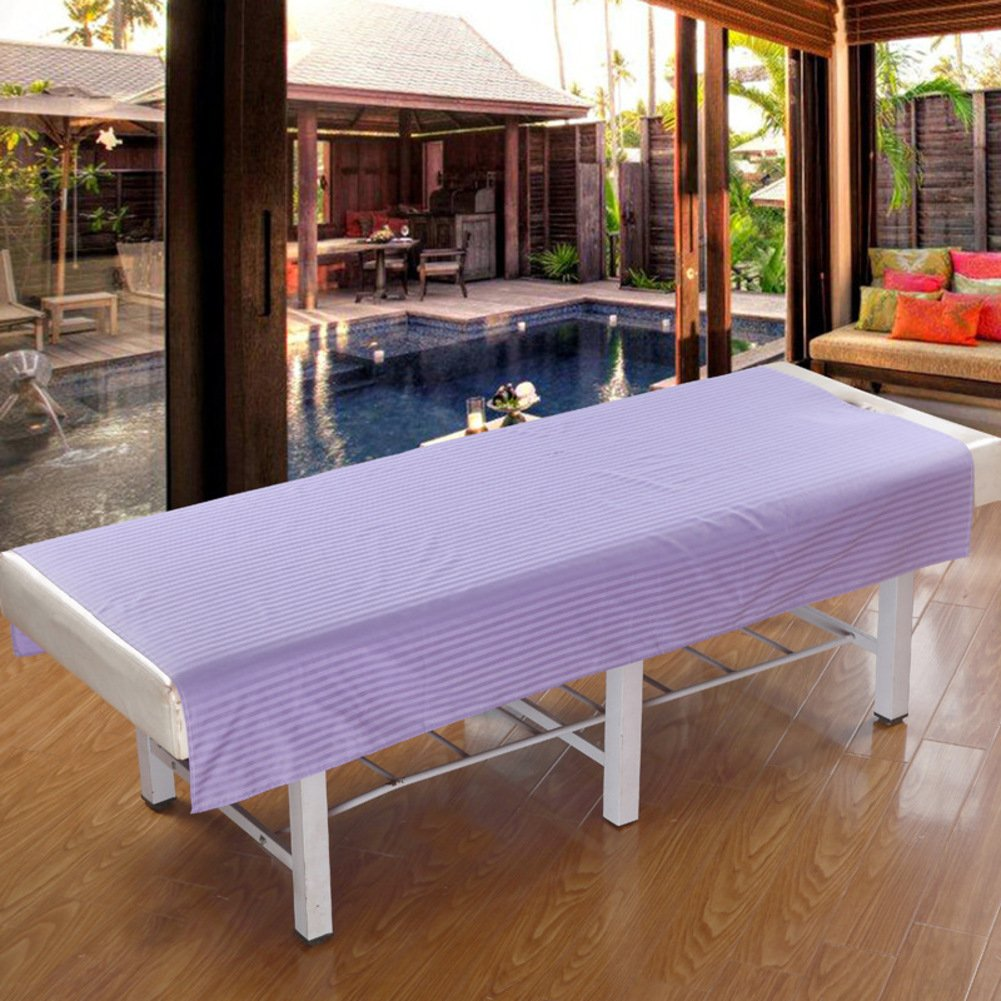 Massage table sheet,waterproof sheets,spa linens,set of 2,sheet/cosmetic sheets/beauty body massage courtyard spa special bed linen-D 200x120cm(79x47inch)