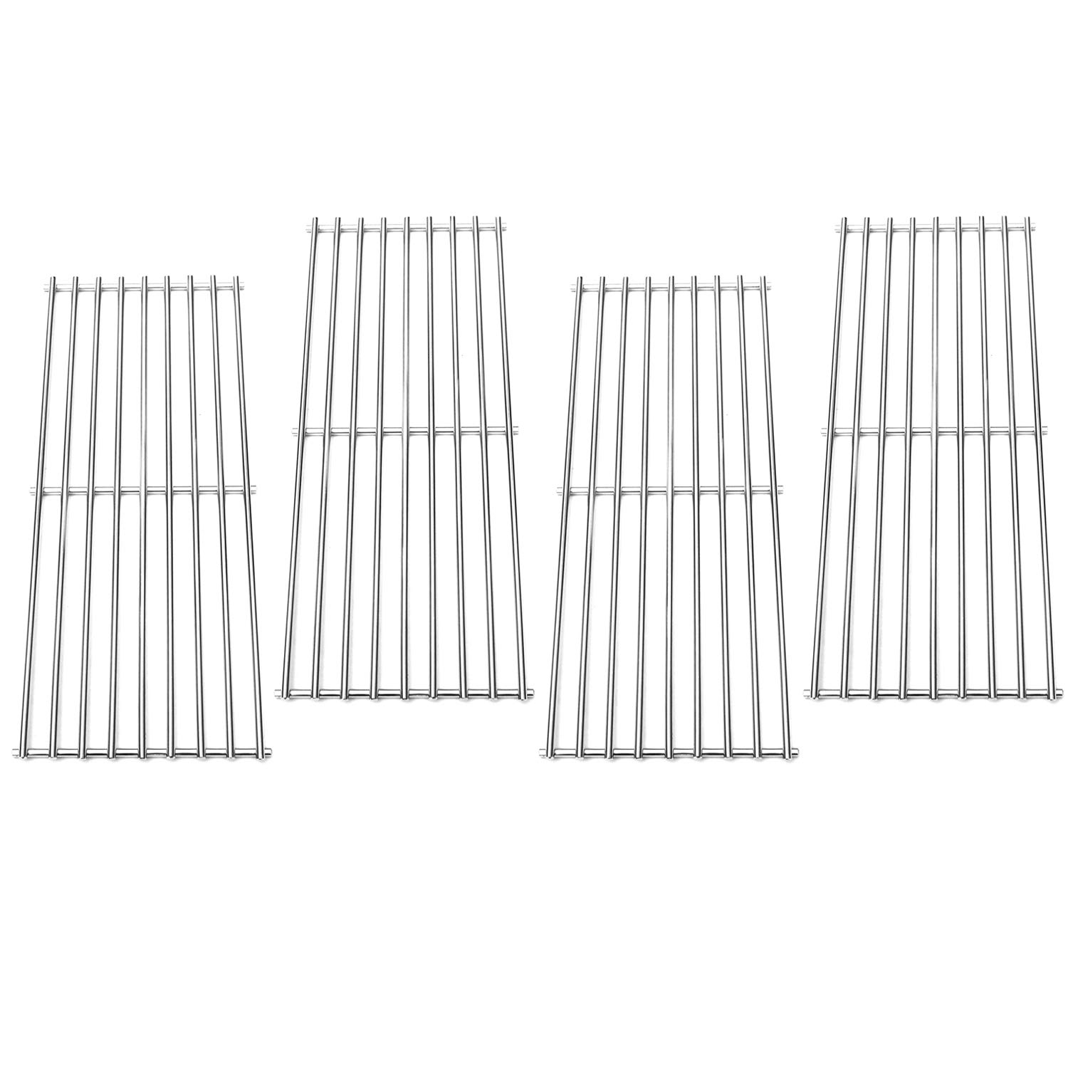 Direct Store Parts Kit DS111 (4-Pack) Solid Stainless Steel Cooking grids Replacement Turbo,Perfect Flame, Perfect Flame Gas Grill (4) by Direct Store