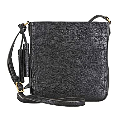d53f34e7a05d Amazon.com  Tory Burch McGraw Swingpack Ladies Small Leather ...