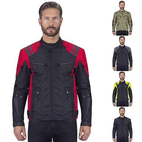 Amazon.com: Viking Cycle ironborn chamarra textil de moto ...