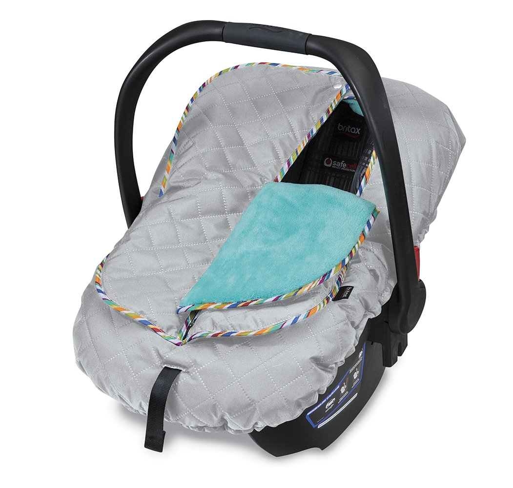 Amazon.com : Britax B-Warm Insulated Infant Car Seat Cover, Arctic ...