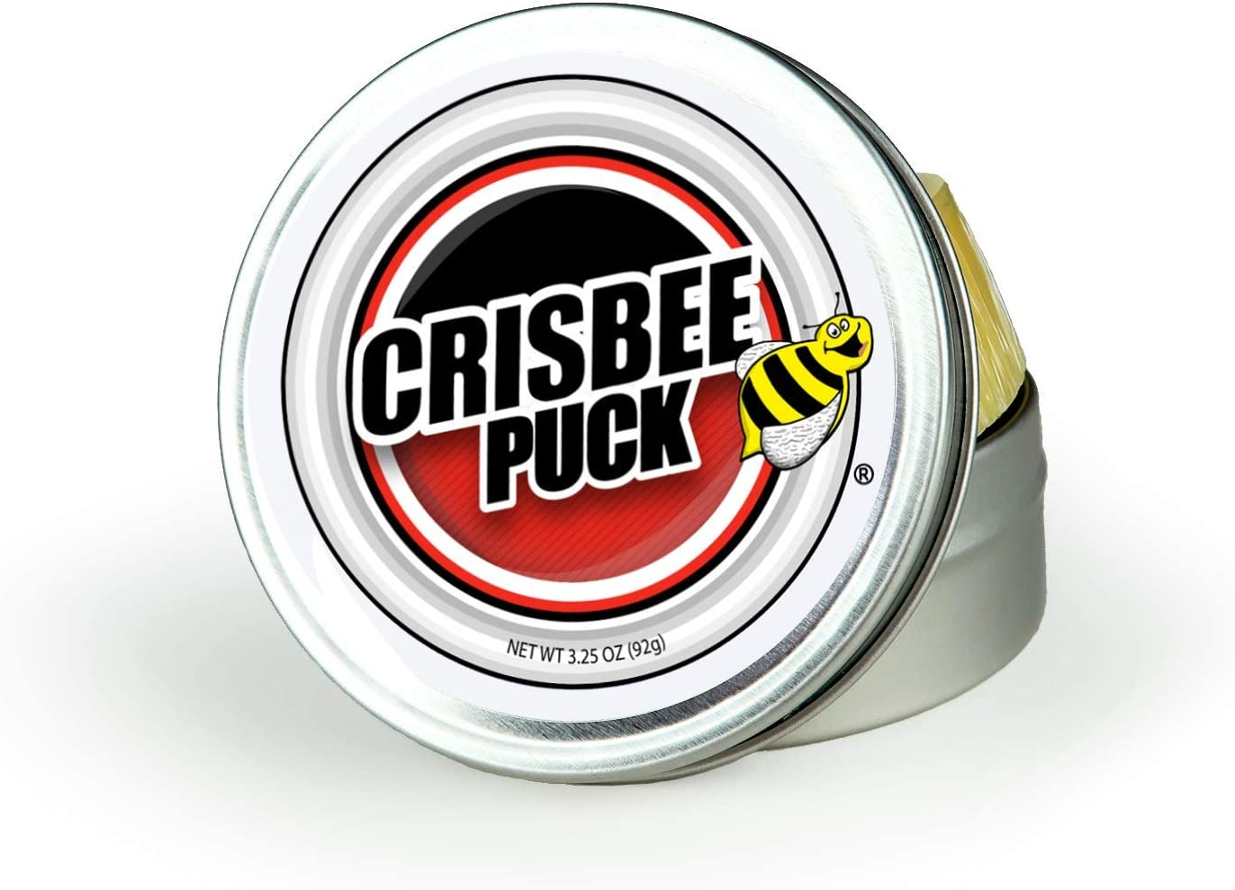 Crisbee Puck Cast Iron and Carbon Steel Seasoning - Family Made in USA - The Cast Iron Seasoning Oil & Conditioner Preferred by Experts - Maintain a Cleaner Non-Stick Skillet