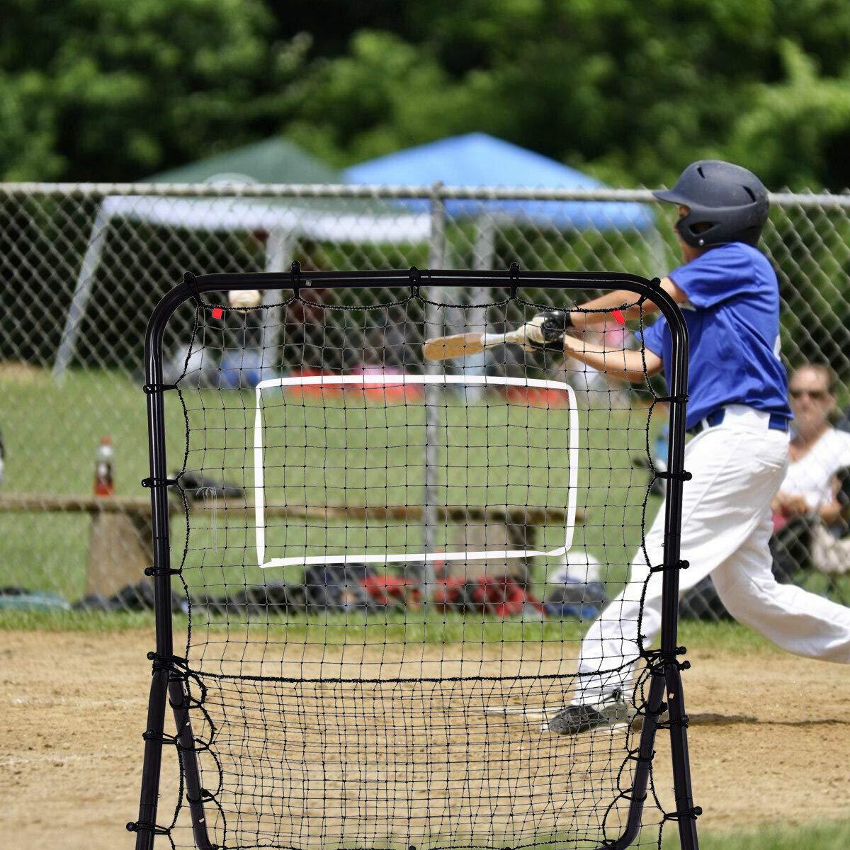 Stark Item Baseball Softball Rebounder Throw Pitch Back Net Training Screen Return Trainer by Stark Item