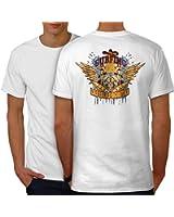 Las Islas Bonitas Mode Crâne Planche Men S-5XL T-shirt le dos   Wellcoda