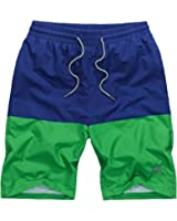 Okany Men's Dry Fit Performance Short with Pockets Swim Trunks Surfing Watershort