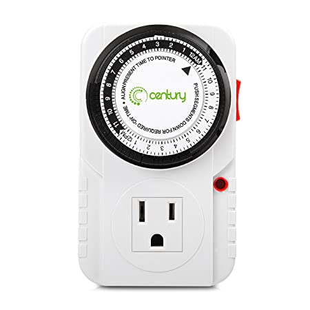 Review Century 24 Hour Plug-in