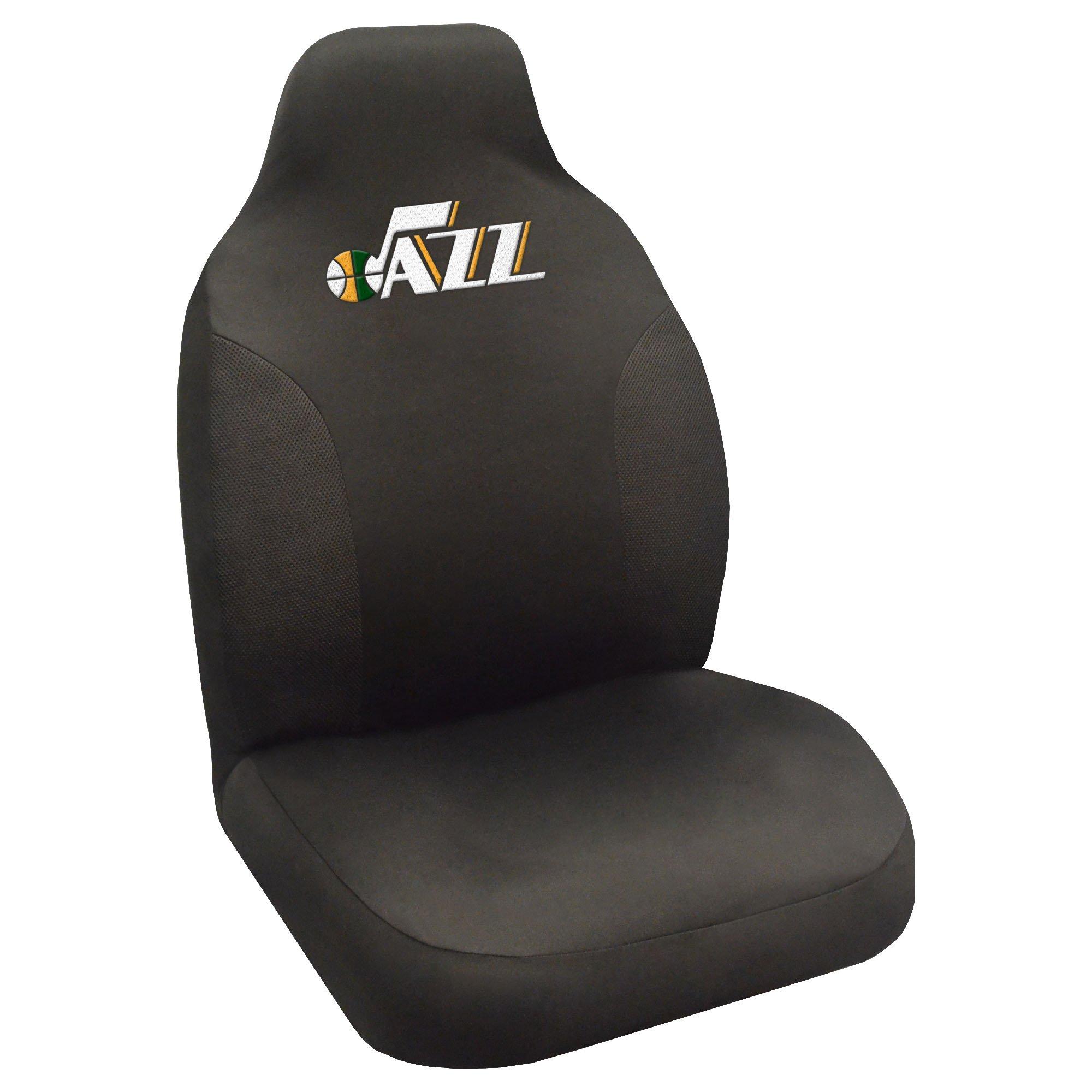 FANMATS NBA Utah Jazz Polyester Seat Cover