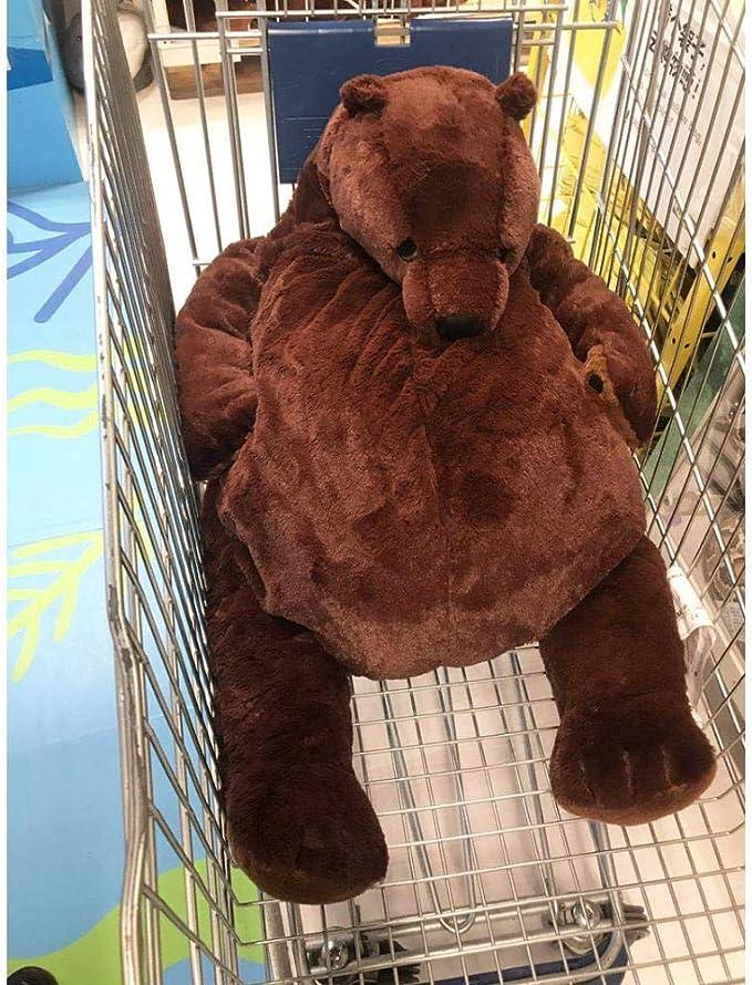 New 60cm simulation DJUNGELSKOG bear toy Brown Teddy Bear Stuffed Animal doll !