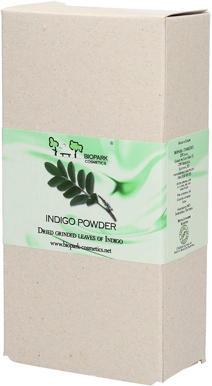 Biopark Polvere di Indigo per Capelli Grigi - 100 g BIOP121