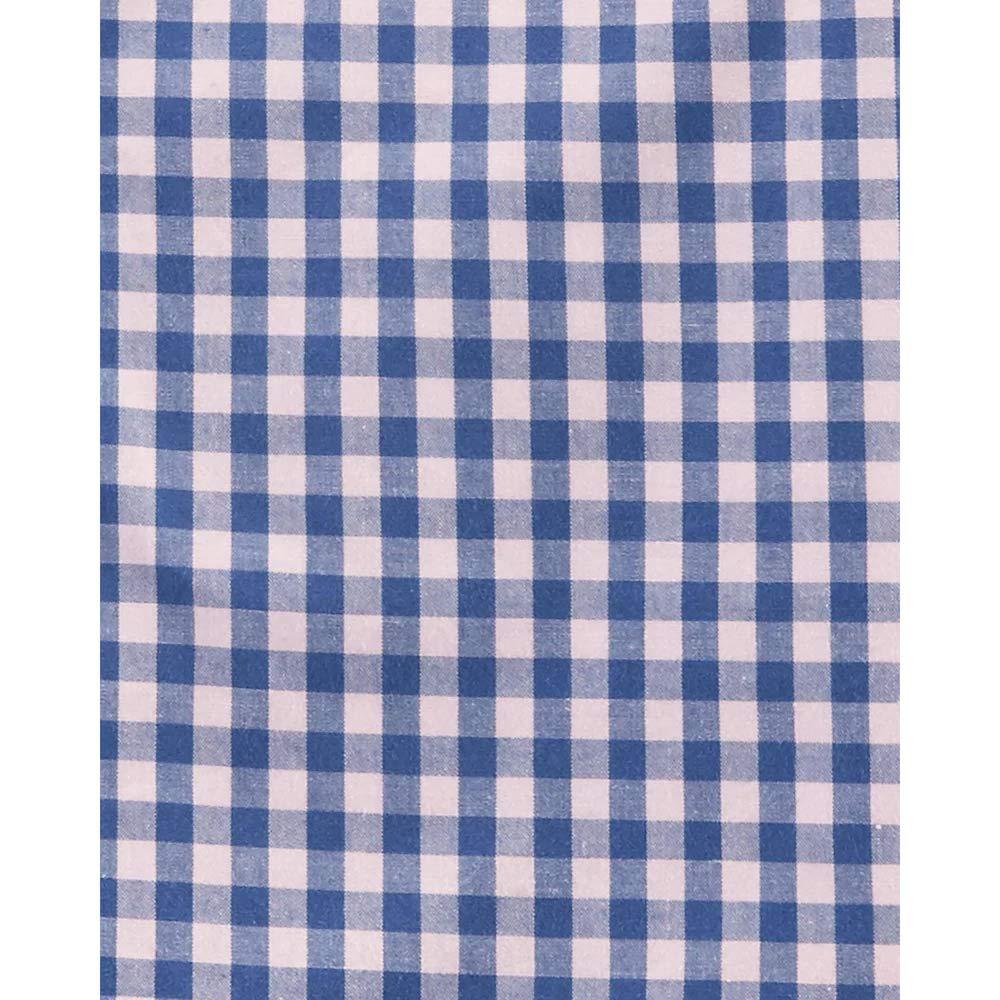 Carters Gingham Poplin Button Down Shirt Blue//Pink 3 Months