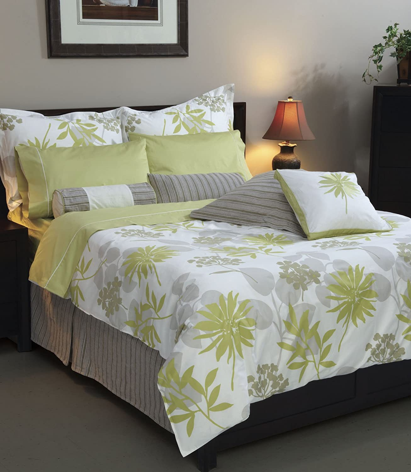 scribble mitchells product online duvet plain green king store cover