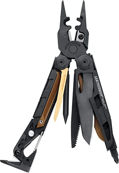 LEATHERMAN - MUT EOD Multitool with Firearm and EOD Tools for Technicians and Military, Black with M…