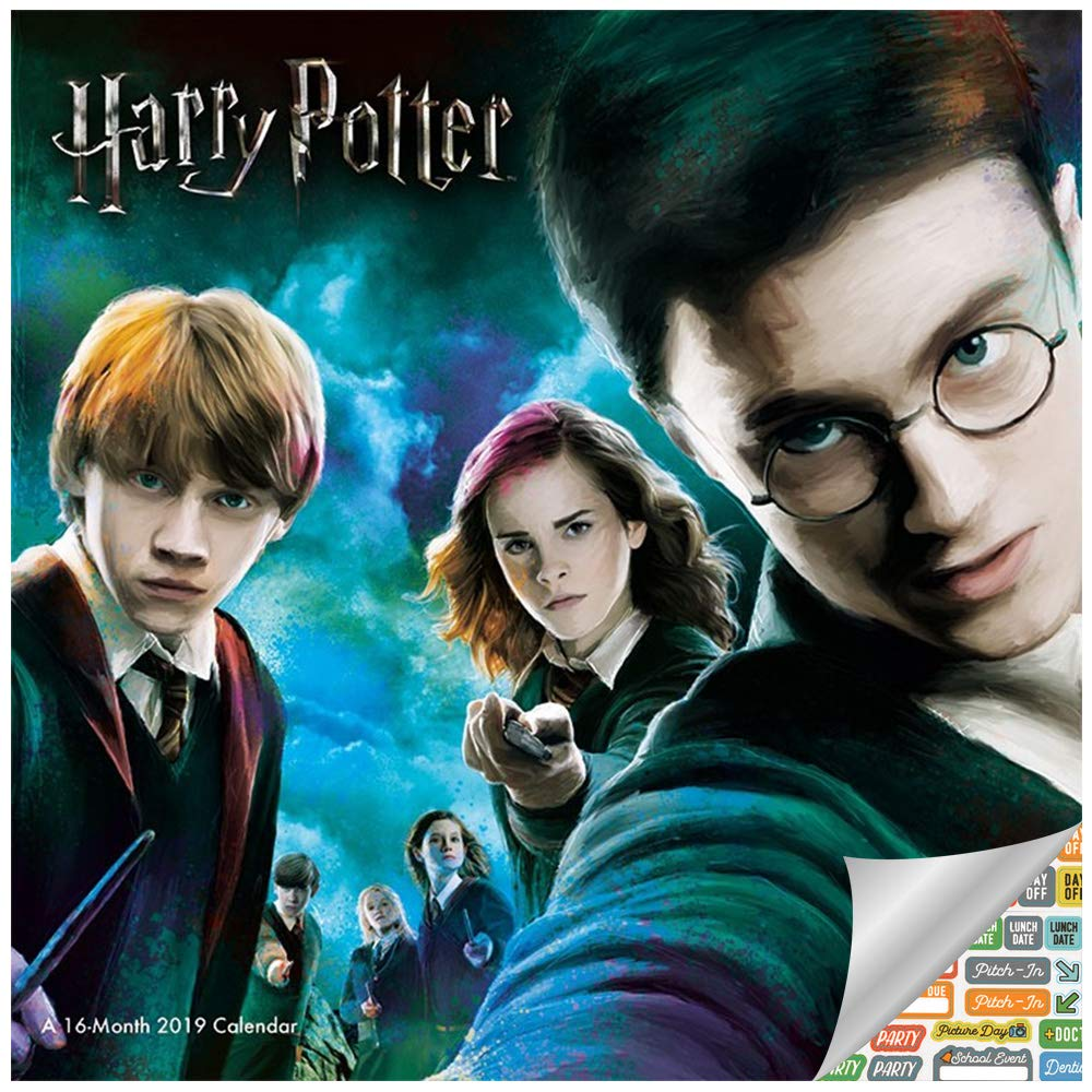 Amazon.com: Harry Potter Calendario 2019 Set – Deluxe 2019 ...