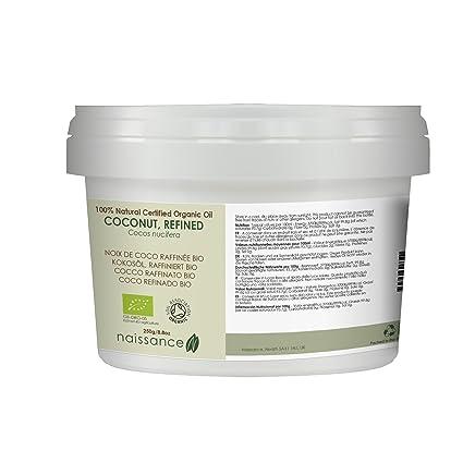 Coco Refinado BIO Sólido - Aceite Vegetal Prensado en Frío 100% Puro - Certificado Ecológico