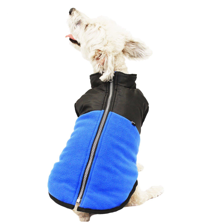 Hotel Doggy DJ00005BPMB Utility Zipper Vest bluee
