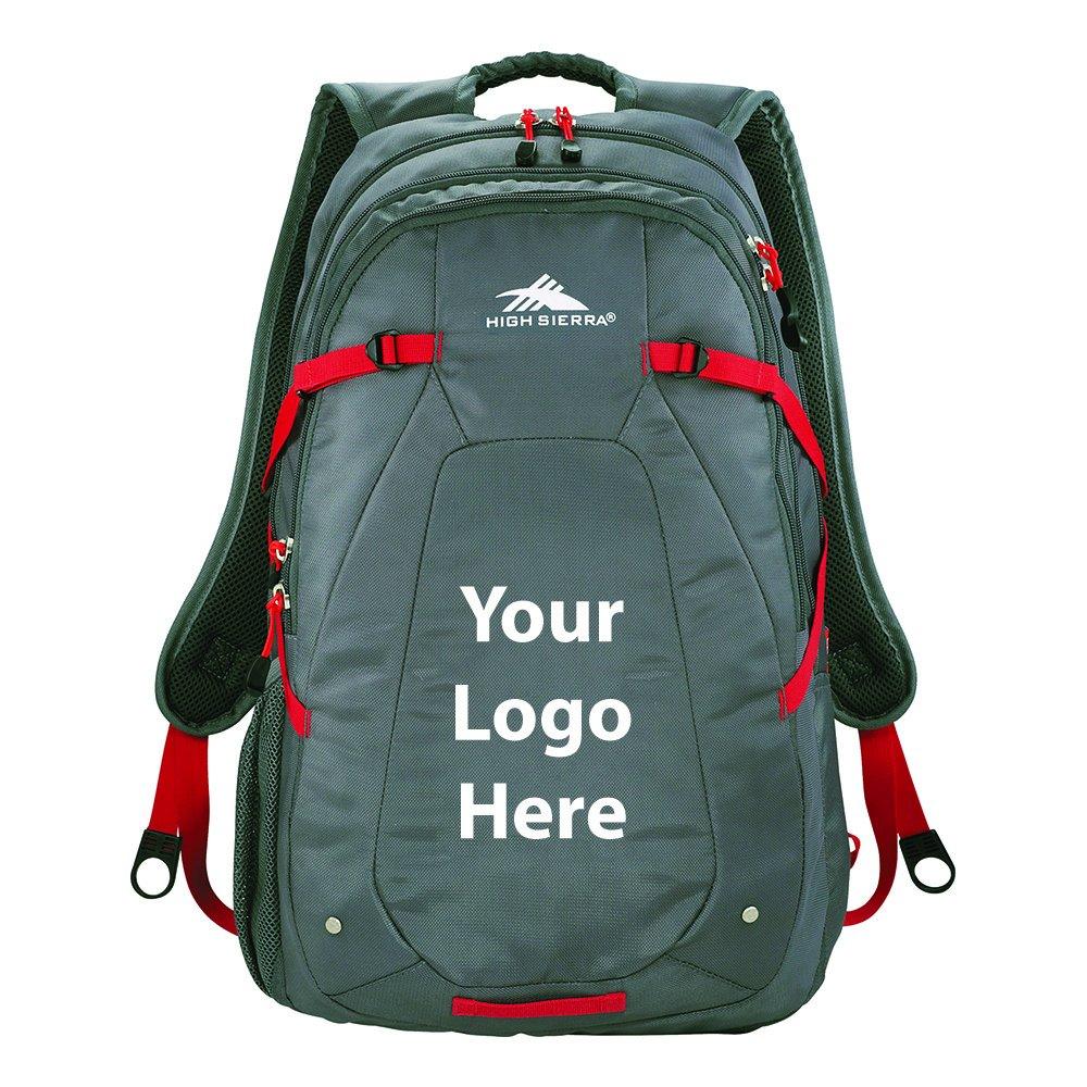 High Sierra Fallout 17'' Computer Backpack - 12 Quantity - $46.00 Each - PROMOTIONAL PRODUCT / BULK / BRANDED with YOUR LOGO / CUSTOMIZED