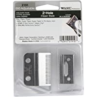 Wahl Professional Adjustable Clipper Blade set #2191 – For 5 Star Senior, Magic Clip, and Reflections Senior – Includes…