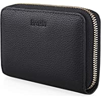 Brosin Genuine Leather RFID Wallet - Anti-Theft Women & Mens Leather Wallet for Credit Card, ID Card