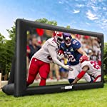 VIVOHOME 20ft Indoor and Outdoor Inflatable Blow up Mega Movie Projector