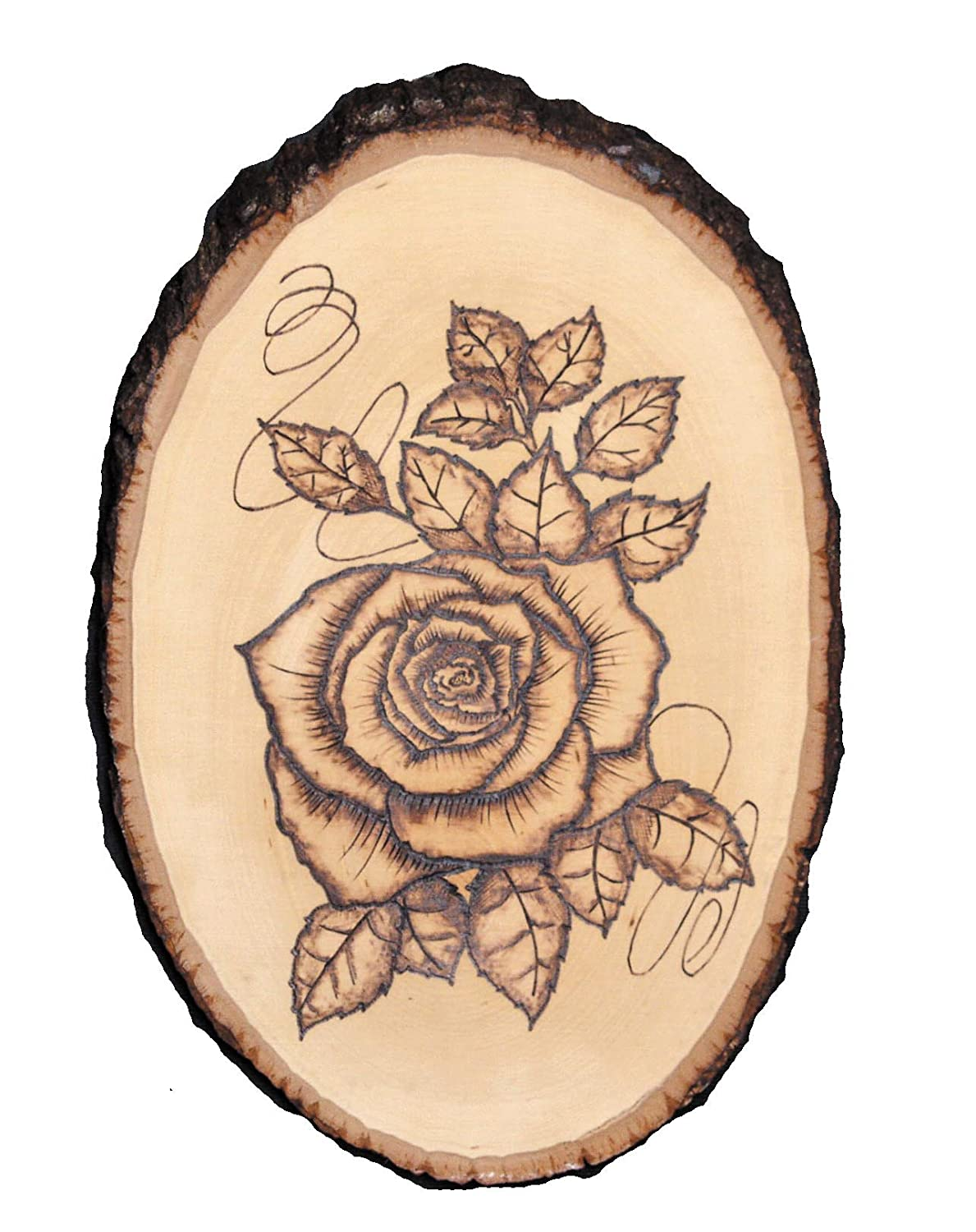 Walnut Hollow 27669 Basswood Country Round Small