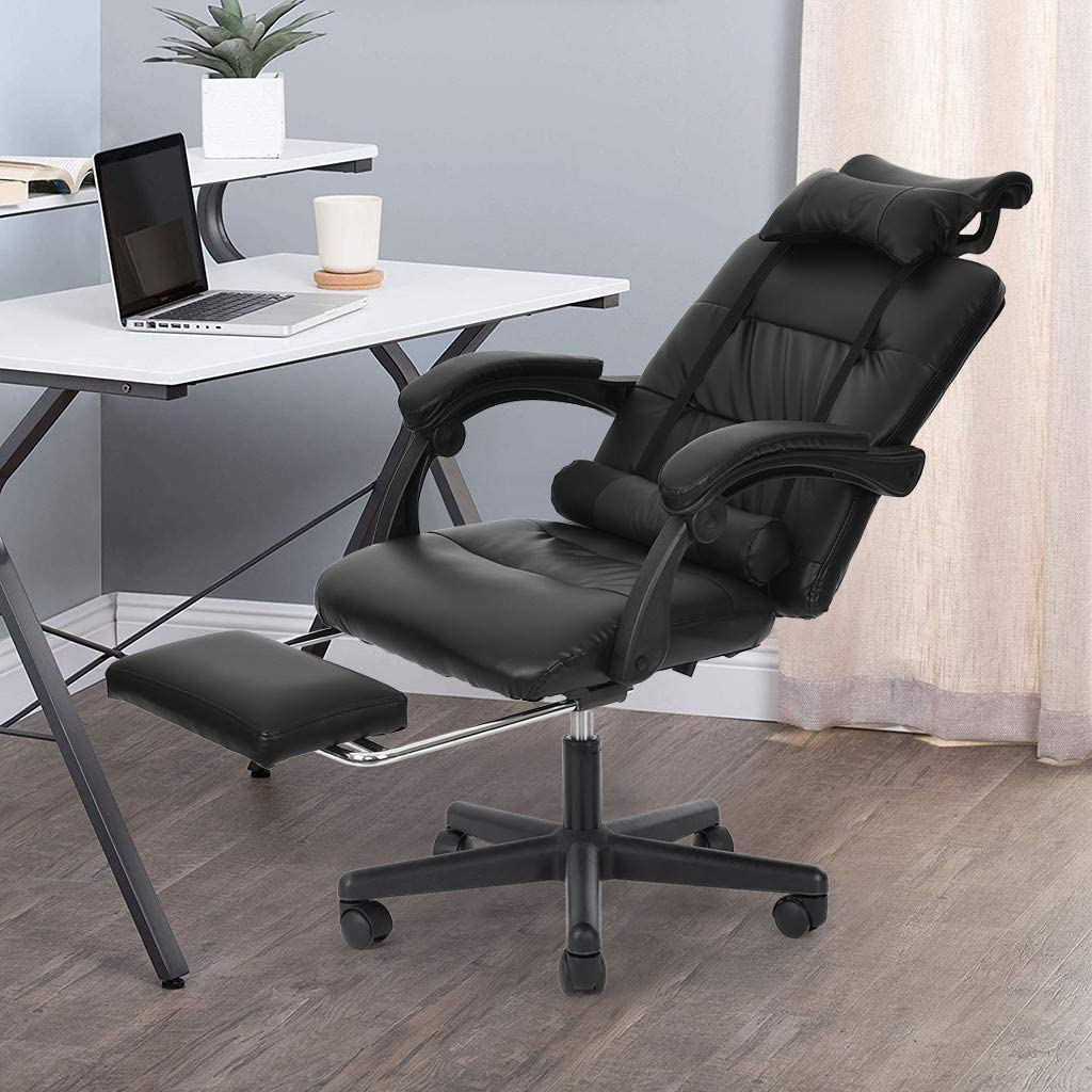 Amazon Coupon Code for Back Massage Gaming Chair with Footrest
