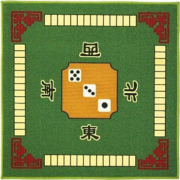 Artibetter Cubierta de Mesa Juegos de Cartas de Póquer Cubierta de Mesa para Juegos de Mesa Juegos de Fichas Dominó Mahjong Favores de Fiesta: Amazon.es: Juguetes y juegos