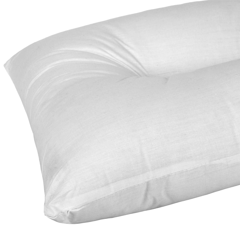 Homescapes Almohada Coj/ín ortop/édica Anti-ronquidos y Anti-apnea 100/% Confort