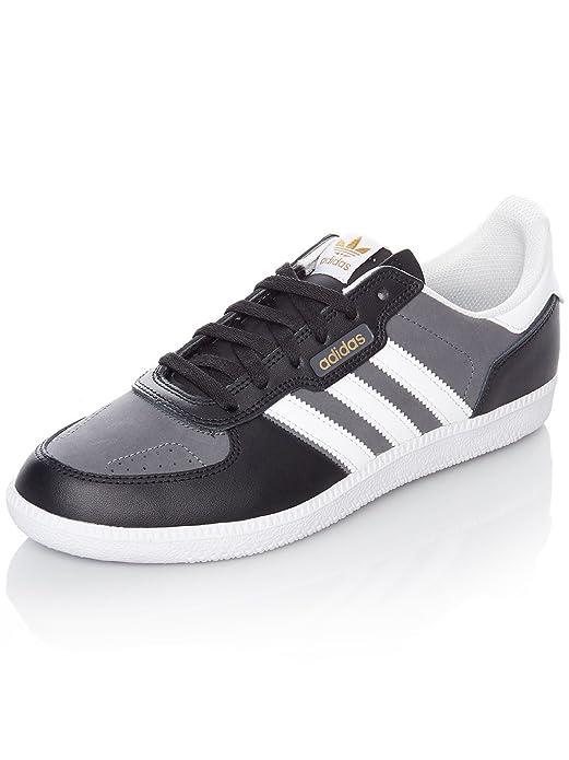 Chaussure Adidas Leonero Core Noir-Footwear Blanc-Gris Five vkxkR