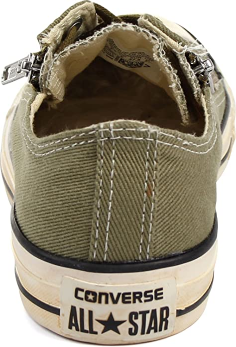 36287d9431ad Converse Chuck Taylor All Star Double Zip Ox Shoes