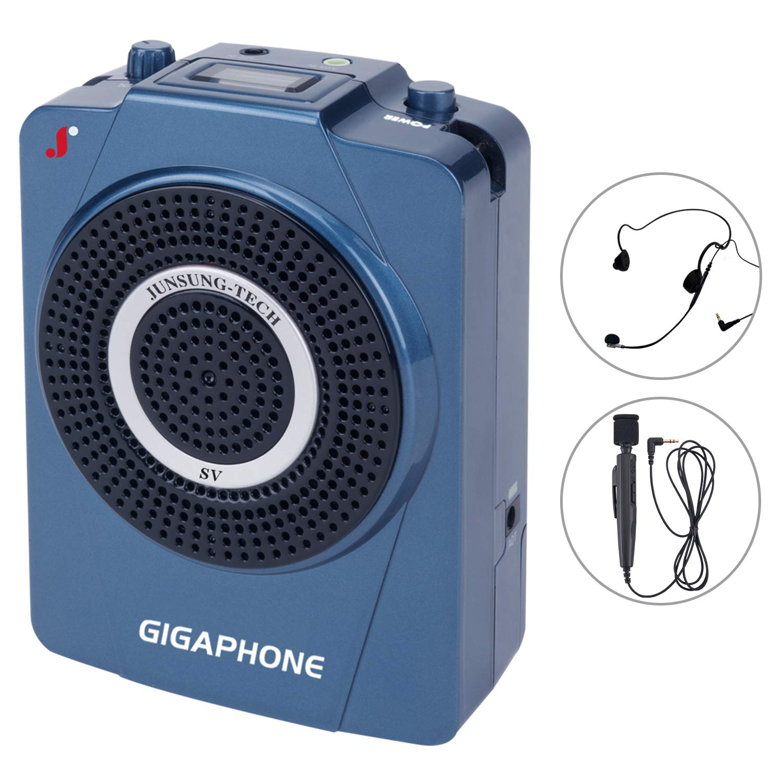 GIGAPHONE Outdoor SV 40W Portable Loud Voice Amplifier with Microphones