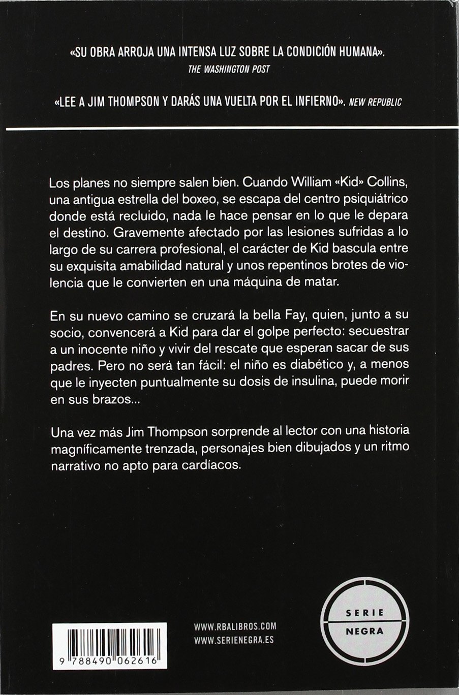 Un cuchillo en la mirada: JIM THOMPSON : 9788490062616: Amazon.com: Books