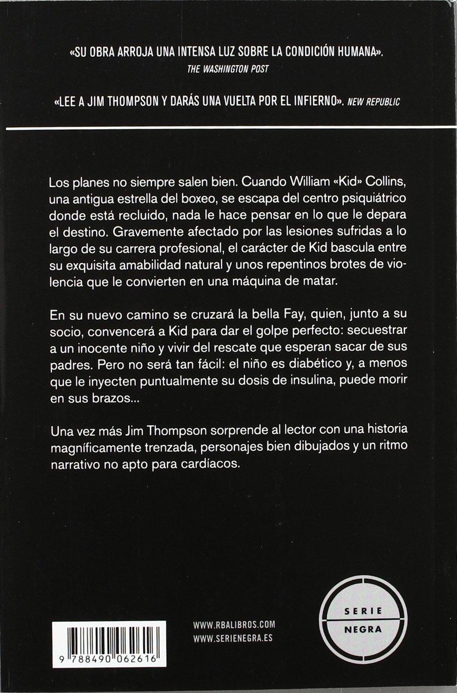 Un cuchillo en la mirada (NOVELA POLICÍACA BIB): Amazon.es: JIM THOMPSON: Libros