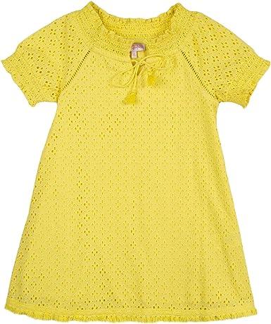 LILI GAUFRETTE GN30062 Dress Robe, Jaune (Bright Yellow 73