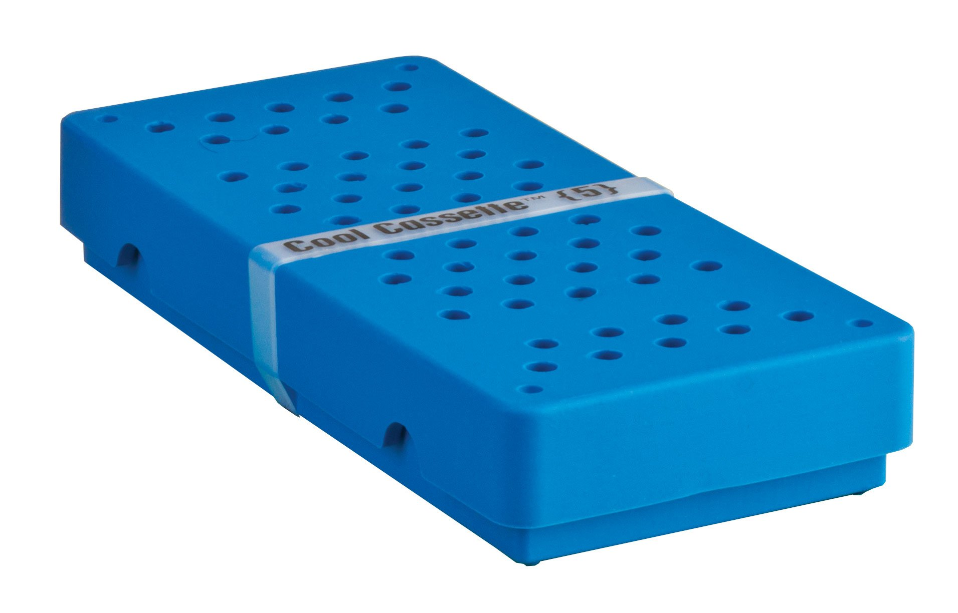 Practicon 7039770 BLU Cool Cassette 5 Instrument Container, Blue